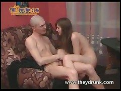 Really wino girl takes his cock at hand her pussy