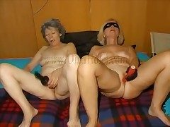 Matures all over toys masturbate team up by team up