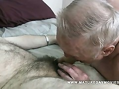 Lush Grandad Gets His Ass Stuffed