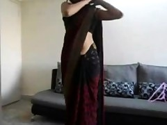 Indian nubile shows off her bod