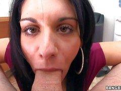 Bella Reese is a lovable dark haired MILF from Italy.
